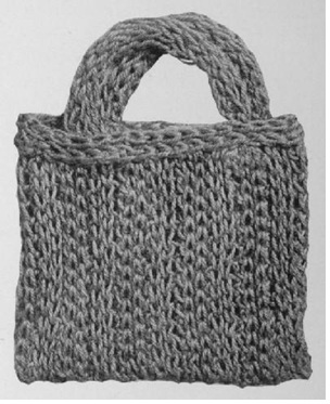 Bag Knitting Patterns In The Round : School Bag (Spool Knitting)   Free Vintage Patterns